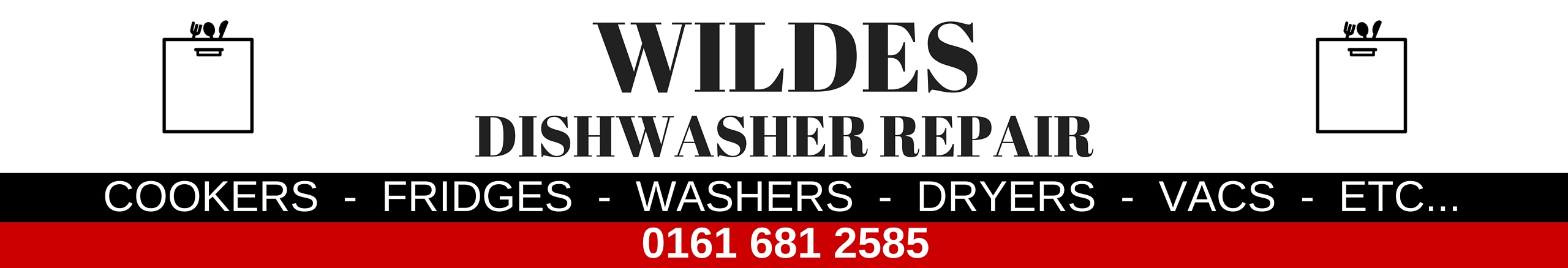 Dishwasher repair in chadderton